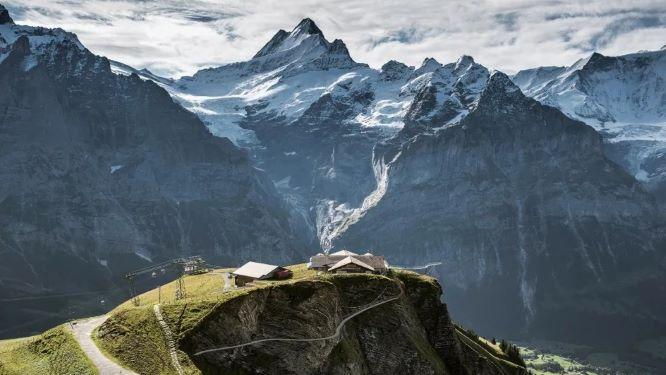 スイス ユングフラウのフィルスト