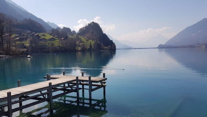 スイスのブリエンツ湖