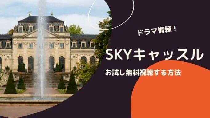 「SKYキャッスル」お試し無料視聴する方法!ドラマ情報!